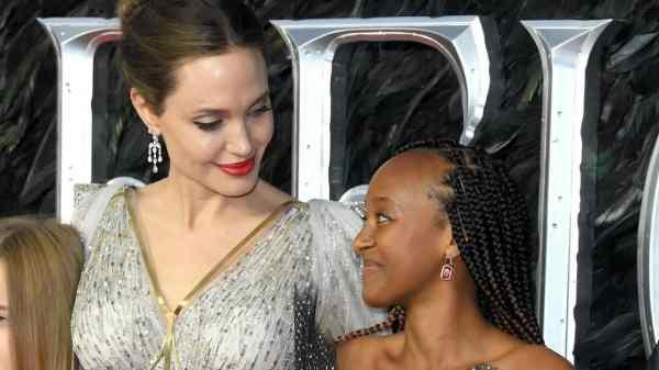 Angelina Jolie y su hija Zahara