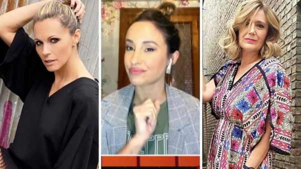 Denise Dumas, Lourdes Sánchez y Marcela Coronel
