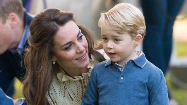 Kate Middleto y el príncipe George