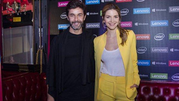 Mariano Martínez y Marcela Kloosterboer