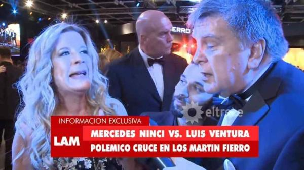 Mercedes Ninci y Luis Ventura