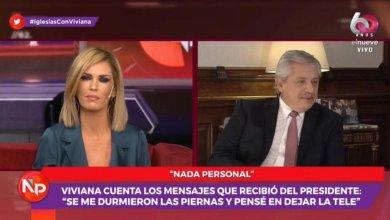Photo of Tras la polémica, Canal 9 emitió un comunicado sobre lo que pasó entre Viviana Canosa y Alberto Fernández