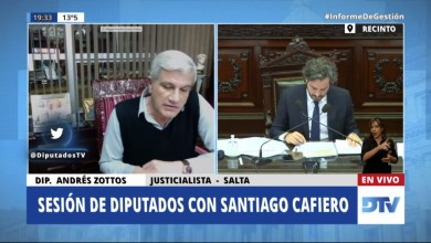 Photo of Escándalo IFE: Santiago Cafiero aseguró que se recuperarán los bonos cobrados
