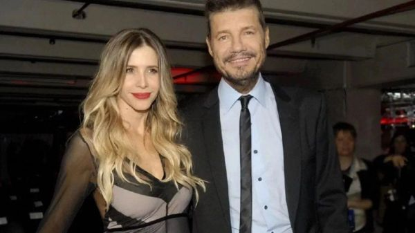 Guillermina Valdés y Marcelo Tinelli
