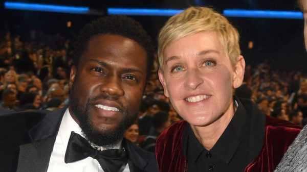 Kevin Hart y Ellen DeGeneres
