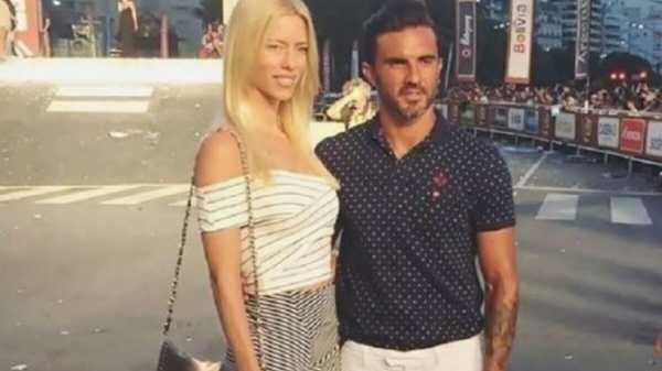 Nicole Neumann y Fabián Cubero