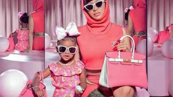 Cardi B y su hija Kulture