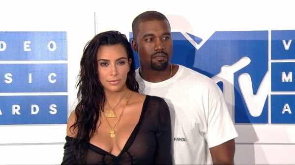 Kim Kardashian y Kanye West 1