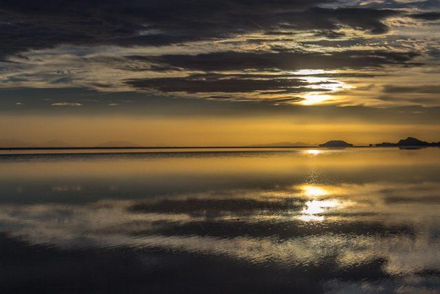 Salar de Uyuni Puesta Sol Doble cielo