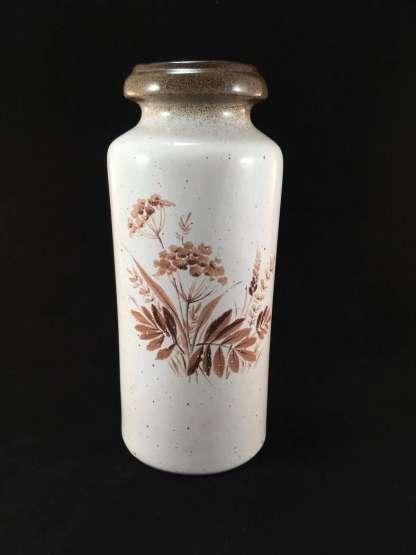 Scheurich Keramic vase with floral motif