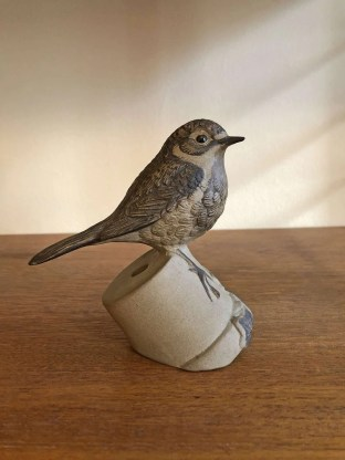 Pottery robin by Poole