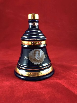 Beautiful limited edition Bell's Whisky decanter by Wade, part of the Great Scottish Inventors series.