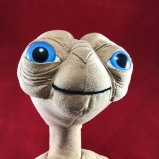 vintage ET soft toy