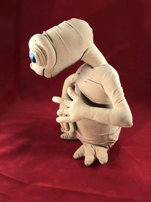 vintage ET soft toy
