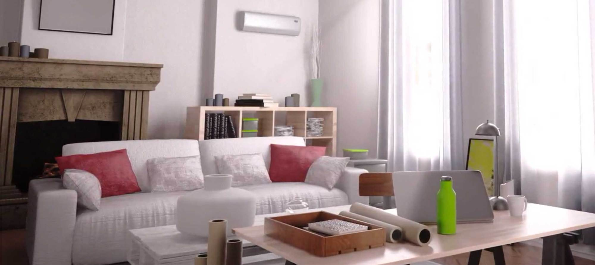 hight resolution of ductless cooling system
