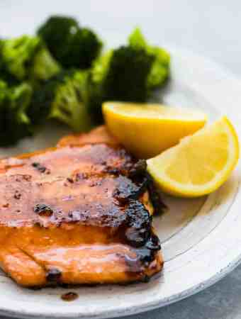 Brown Sugar Crusted Salmon