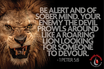 Image result for picture 1peter5:8