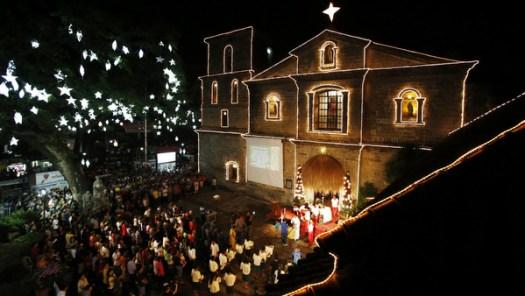 Misa de Gallio in Christmas season