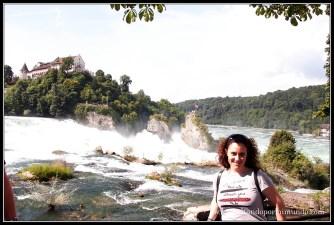 Cataratas del Rhin, Suiza.