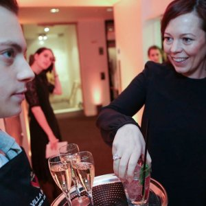 London bartenders and waiting staff for corporate drinks reception