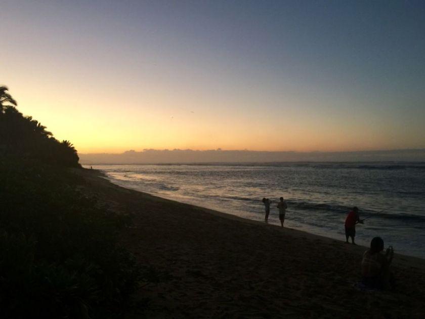 Sunset in Waialua
