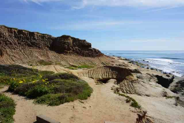 Trail to tide pools at Cabrillo National Monument