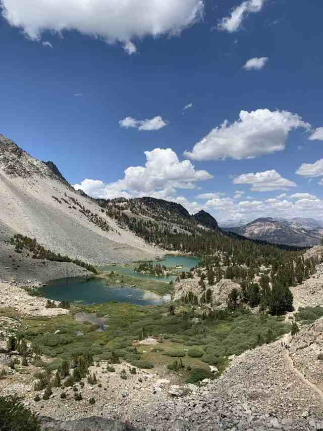 hiking in mammoth lakes duck pass