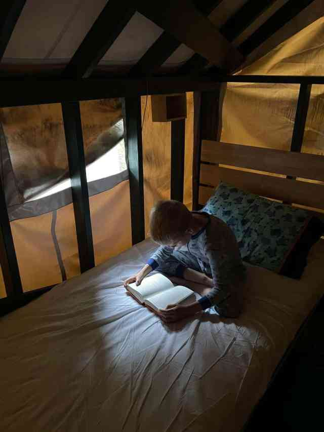 tent cabin is kid friendly camping in yosemite