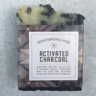 Activated Charcoal Goat Milk Soap Bar
