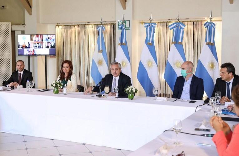 Con la presencia de Cristina, Alberto Fernández explicó cómo negociarán la deuda