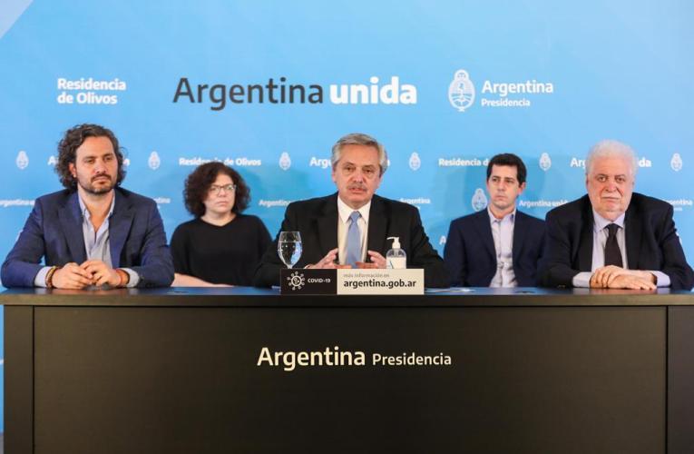 Argentina continuará el aislamiento obligatorio hasta el 10 de mayo