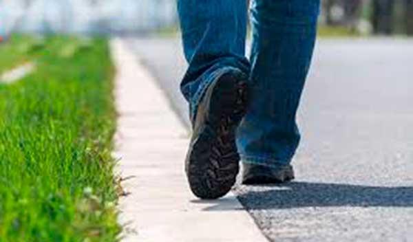 Permiso para realizar caminatas durante dos horas