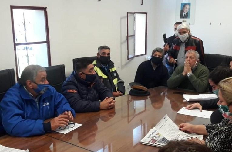 Trabajadores municipales protestaron en el Concejo Deliberante