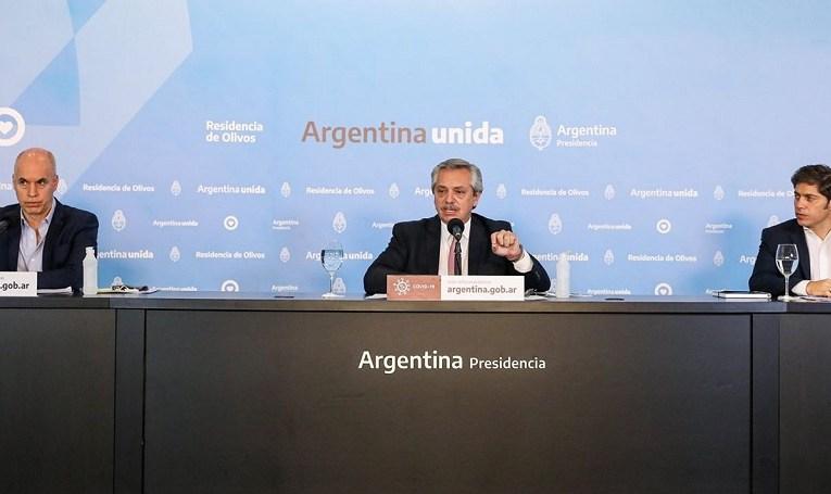 Habló Alberto Fernández: Aislamiento para unos, distanciamiento para otros