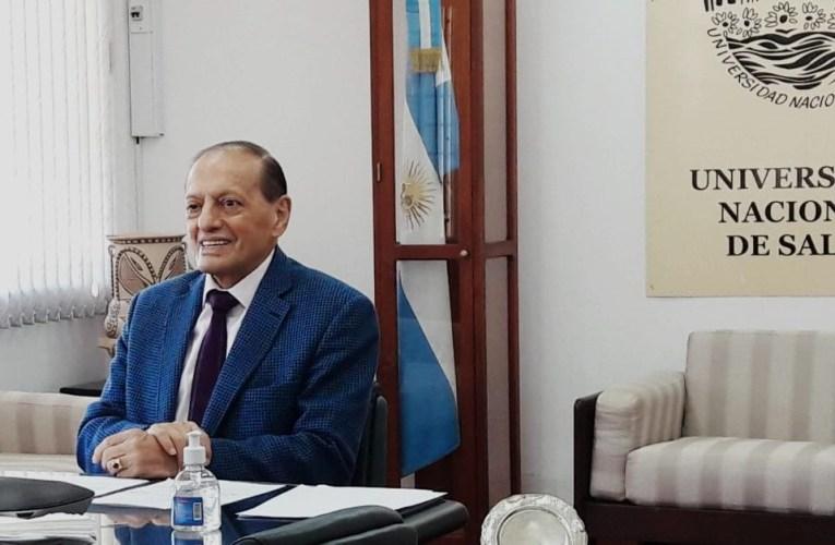 EN LA UNIVERSIDAD NACIONAL DE SALTA SE CURSARÁ LA CARRERA DE MEDICINA Lo anunció el Rector Víctor Claros luego de emitido el dictamen favorable de la CONEAU