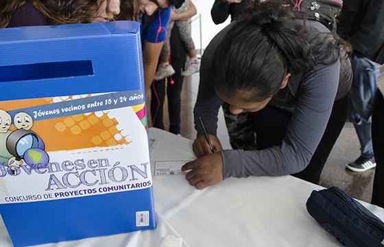 Se lanza el concurso Jóvenes en Acción 2015
