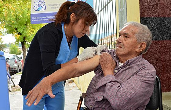Comienza en Salta la campaña de vacunación contra la gripe