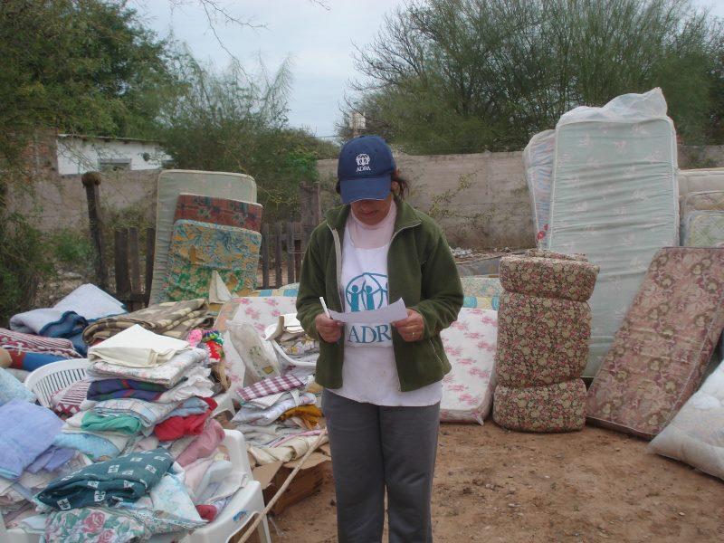 ADRA Argentina sigue trabajando por las comunidades de Rivadavia Banda Sur