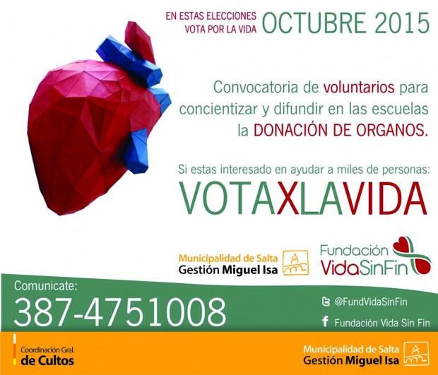 """La Fundación """"Vida Sin Fin"""" busca voluntarios"""
