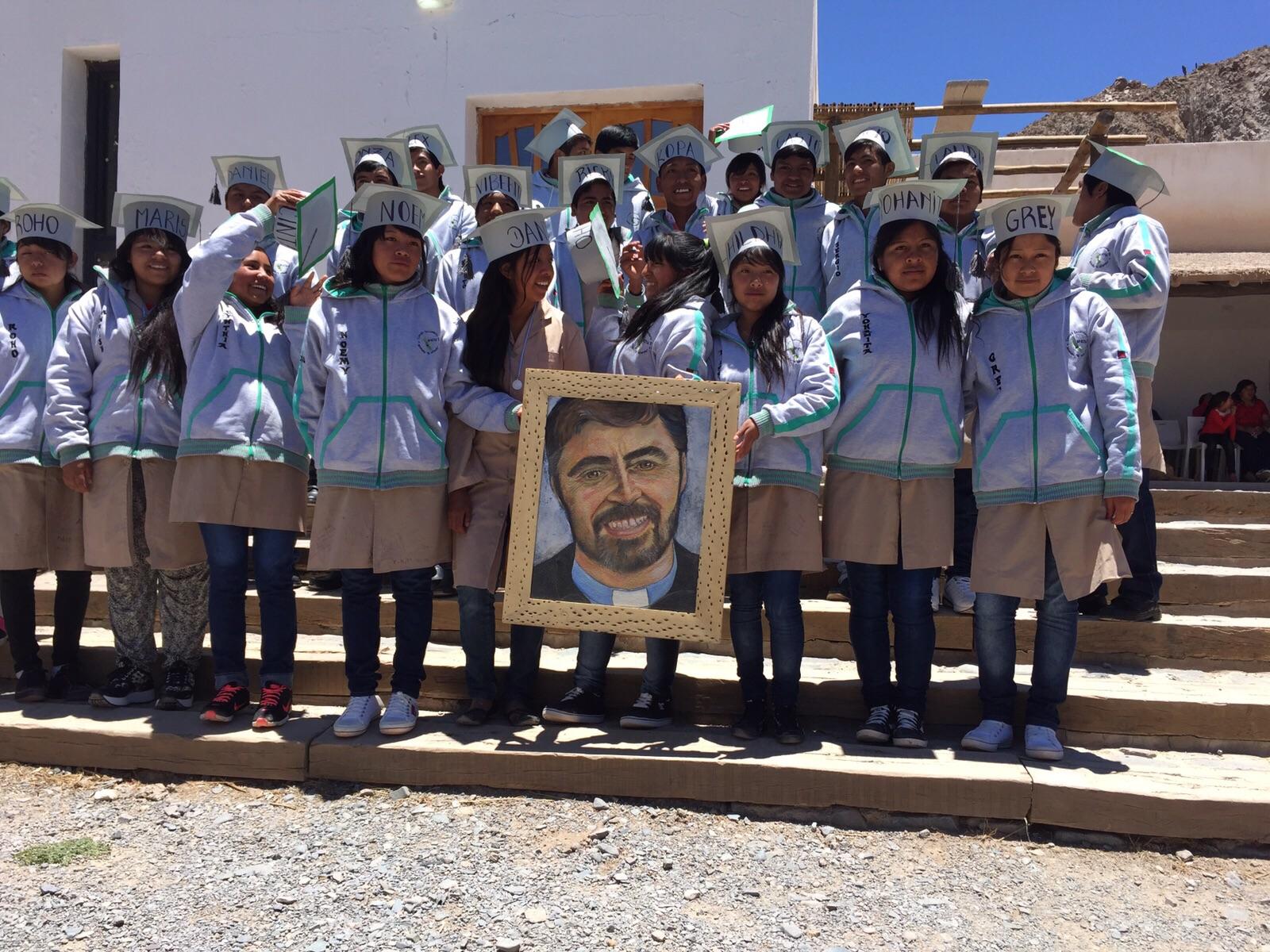 Egresó la segunda promoción de alumnos del Colegio El Alfarcito nº 8214