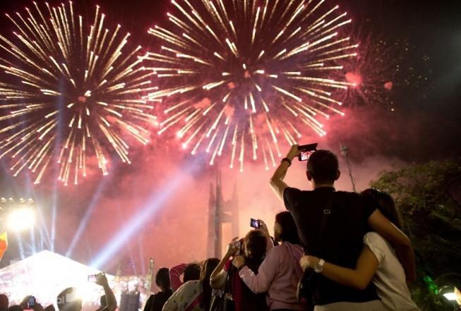 Se despide el año en el Parque del Bicentenario