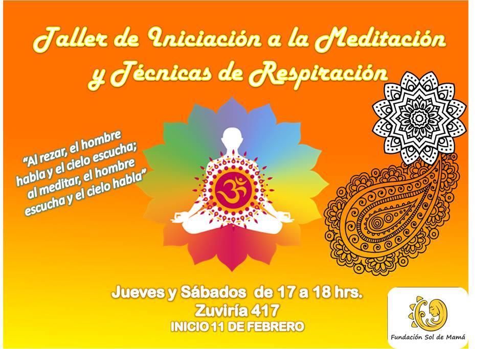 """Fundación """"Sol de mamá"""" realiza  el taller de meditación y técnicas de respiración"""