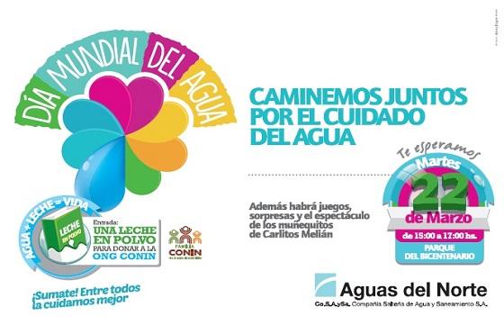 Hoy se realizará una caminata por el Día Mundial del Agua