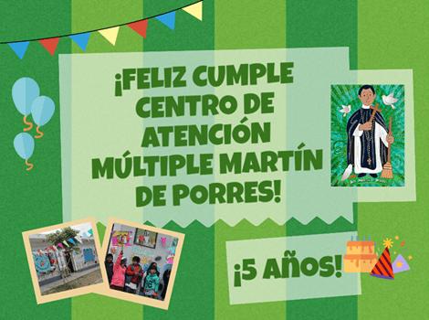 El Centro de Atención Múltiple Martín de Porres festejó su quinto aniversario