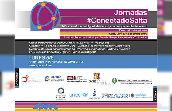 En Salta debatirán sobre niñez, derechos y uso responsable de la web