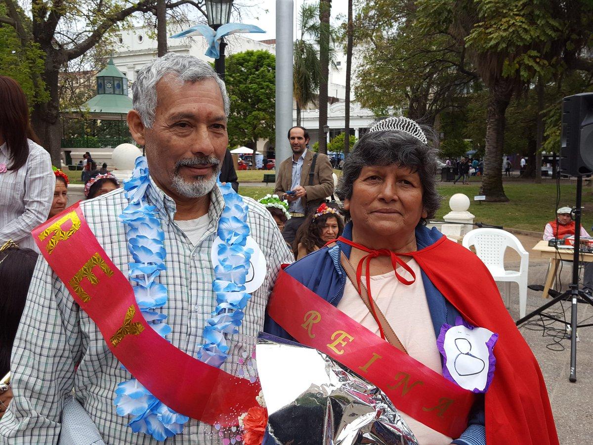 Los adultos mayores de Salta eligieron su Rey y Reina  de la Primavera