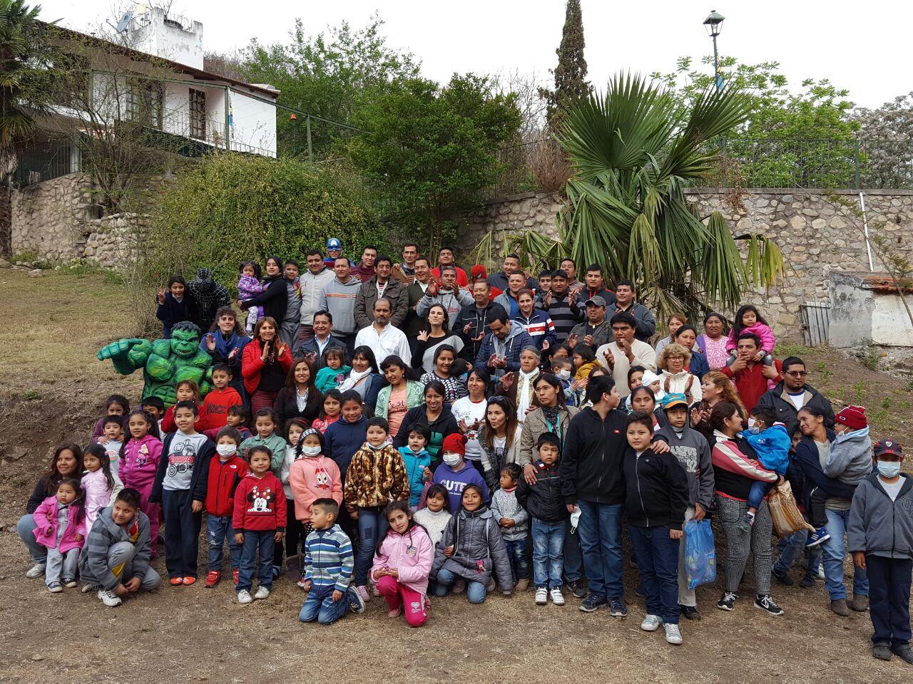 El Servicio Penitenciario brindó una jornada especial y recreativa para los niños de Fundación HOPe