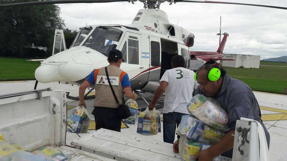 Intenso trabajo del Comité de Emergencia asistiendo a familias afectadas por las inundaciones