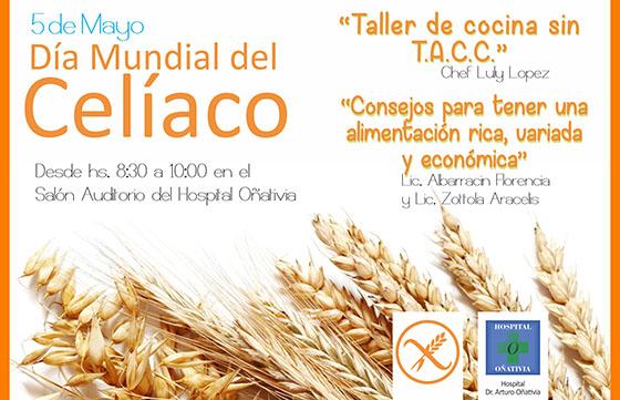 Se realizará un taller de cocina para celíacos en el hospital Oñativia