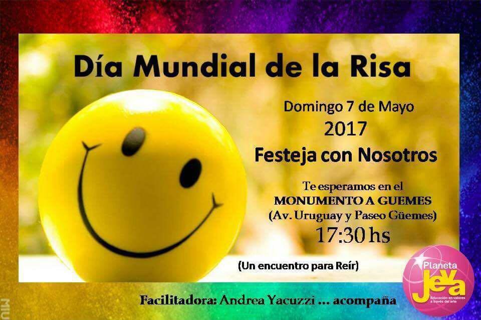 Salta celebrará el Día Mundial de la Risa